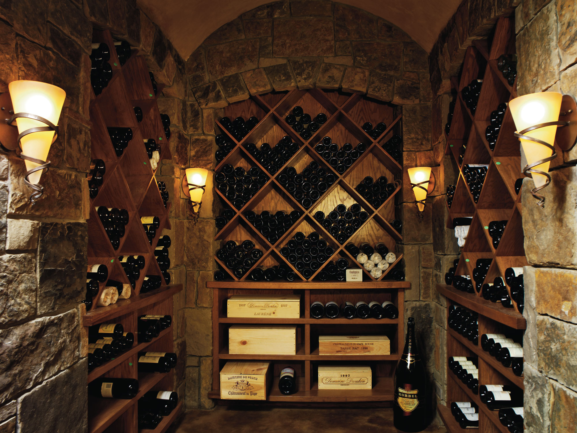 Wine room spaces charles cunniffe architects for Decor pictures