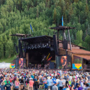 Telluride Town Park Stage